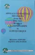 Appeals Committee Decisions from the 1994 NEC