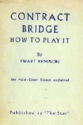 Contract Bridge - How to Play It