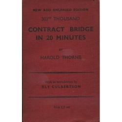 Contract Bridge in 20 Minutes