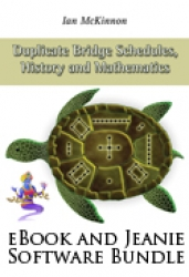 Duplicate Bridge Schedules History and Mathematics
