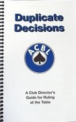 Duplicate Decisions - Directors Guide