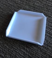 Plastic White Bidding Pad Holder