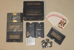 Set of 4 Auction Bridge Boards